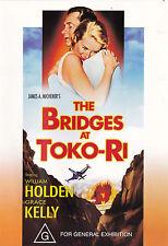 THE BRIDGES AT TOKO-RI William Holden / Grace Kelly DVD R4 - PAL