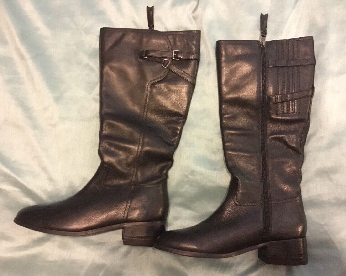 New -- Tredters women's lucky Too Wide Shaft Riding Boots Size 11N