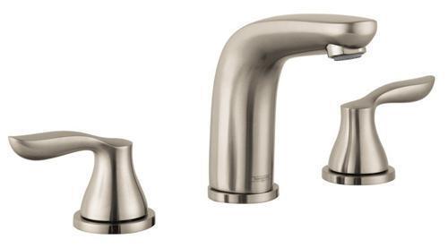 Hansgrohe Solaris Widespread Bathroom Faucet 04169820 Brushed Nickel