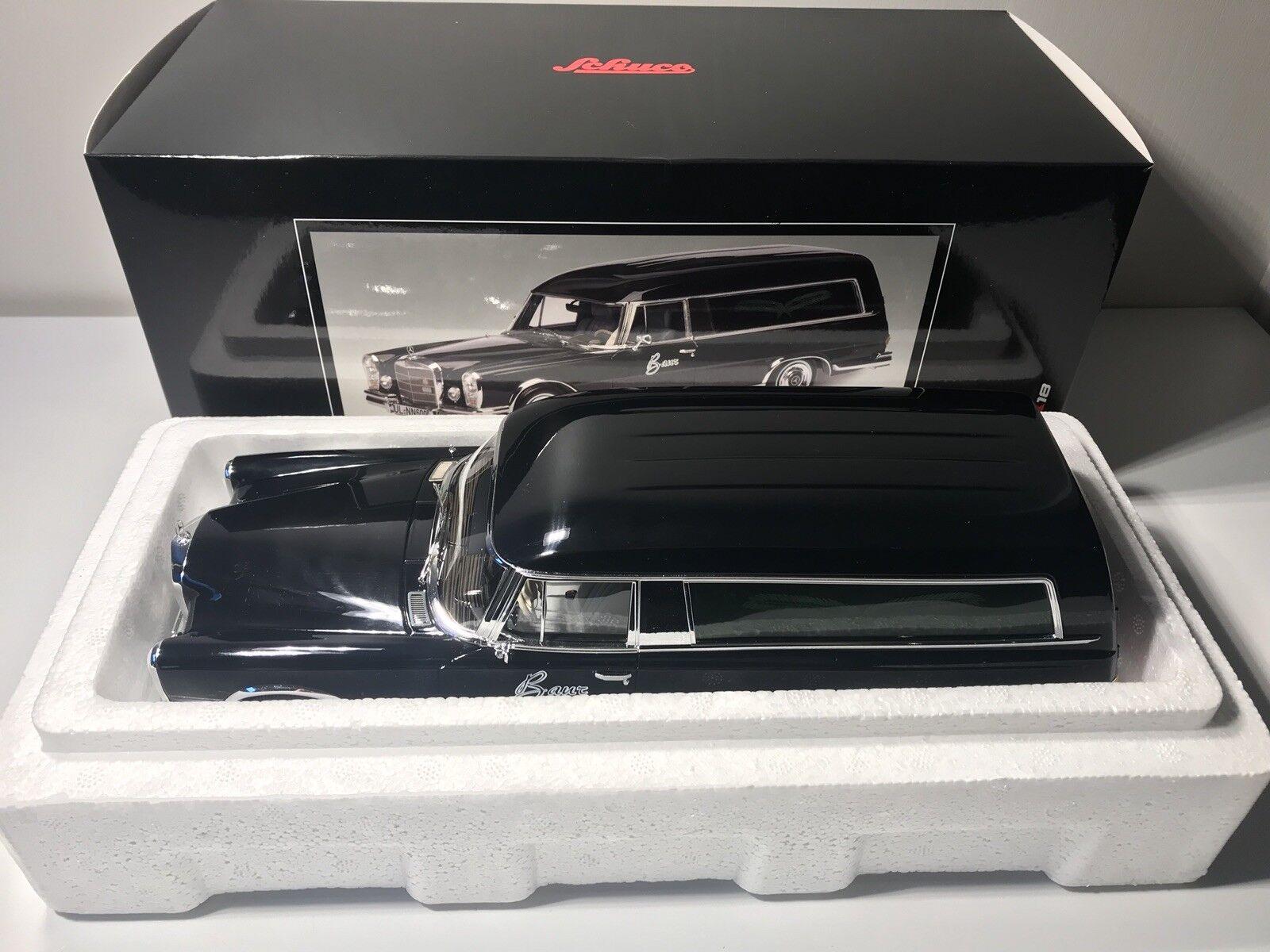 1 18 Schuco Mercedes Benz 600 Leichenwagen Hearse Limitiert OVP    München