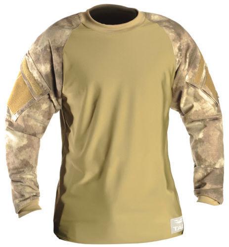 NEW Valken V-TAC Zulu Jersey Combat Shirt ATACS AU camo 2XL