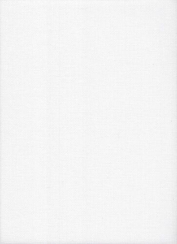 18 Count DMC Aida Cross Stitch Fabric FQ size 49 x 54cms Antique White