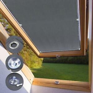 Genuine-Blackout-Skylight-Roller-Blinds-for-Velux-Roof-Windows-Every-Size-Gray