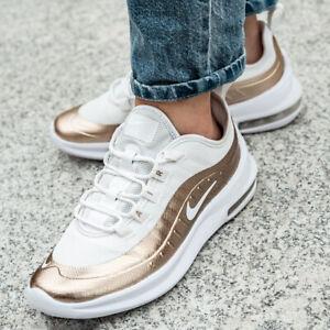 Détails sur Nike Air Max Axis Ep (GS) chaussures femmes filles sport loisir BV0810 100 doré