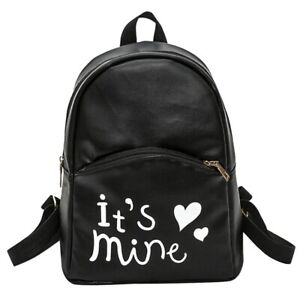 Women-Backpack-Leather-School-Bag-Rucksack-College-Shoulder-Satchel-Travel-ORP