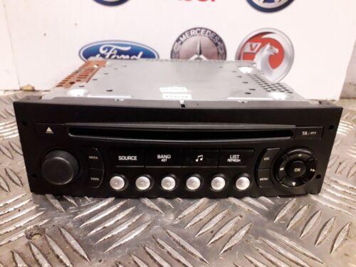 Peugeot 207 cd radio reproductor de 2006-2009