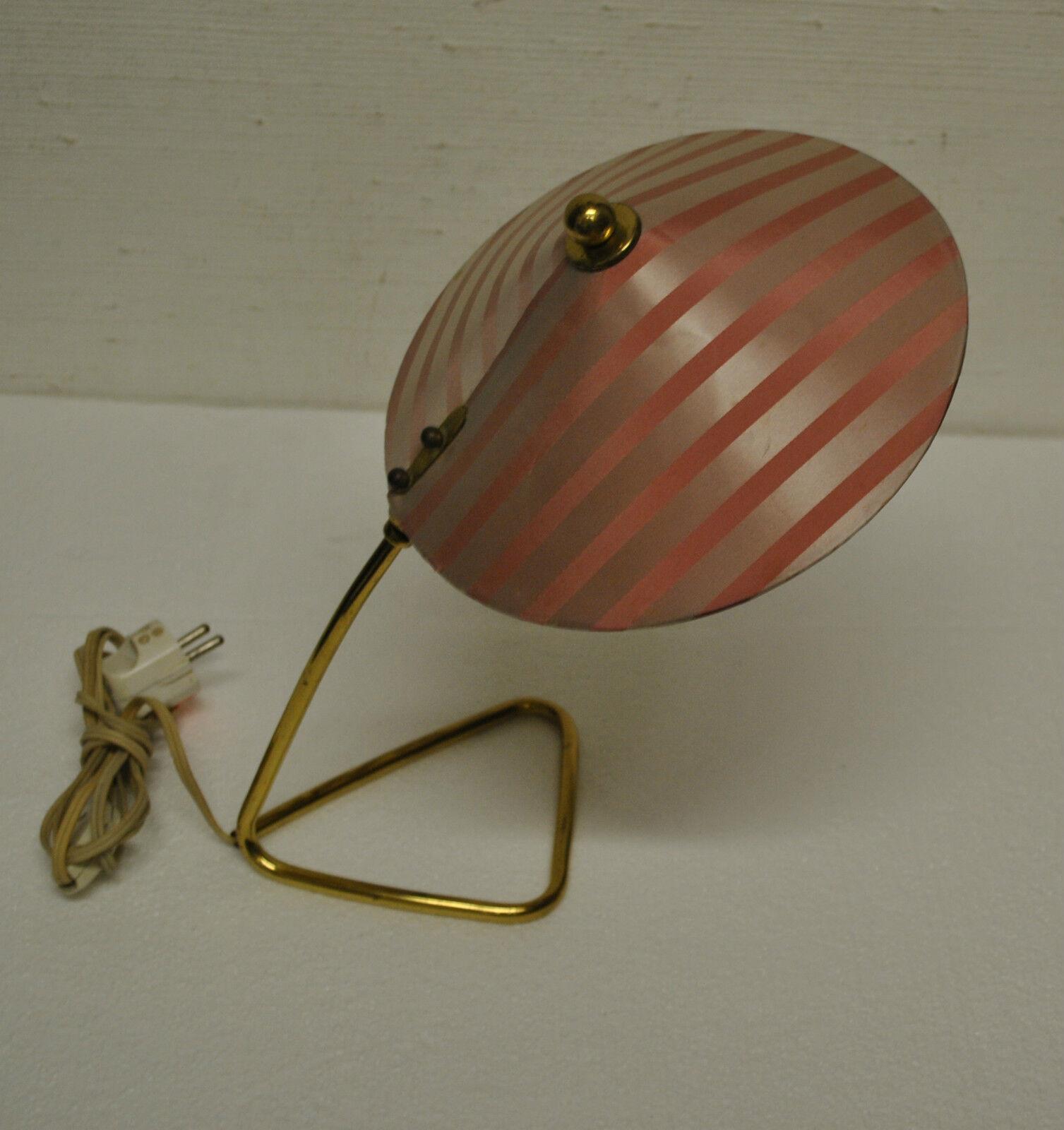ORIGINALE 1950 anni '60anni '60 Luce da tavolo lampada piantana metà 50s 60s
