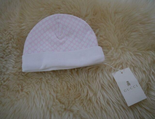 cc1097a6adb NWT 100% AUTH Gucci Baby Blue GG Pattern Cotton Hat 322123 Sz M ...