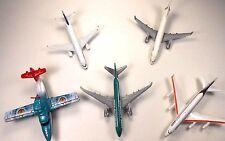 Lot of 5 Mattel Diecast Planes 2001-08