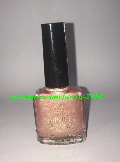 COVERGIRL Nail Polish Lacquer Nailslicks Pink Aura 101 Coral Pink ...