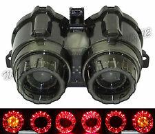 Tail Turn Signal Light Amber Led Smoke Lens For YAMAHA BWS ZUMA X-Over 125 YW125