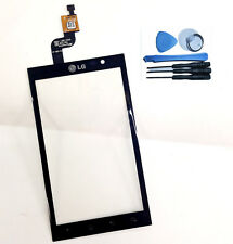 FOR LG OPTIMUS 3D P920 P 920  PANTALLA TACTIL  PARA  CRISTAL  BLACK TOUCH SCREEN