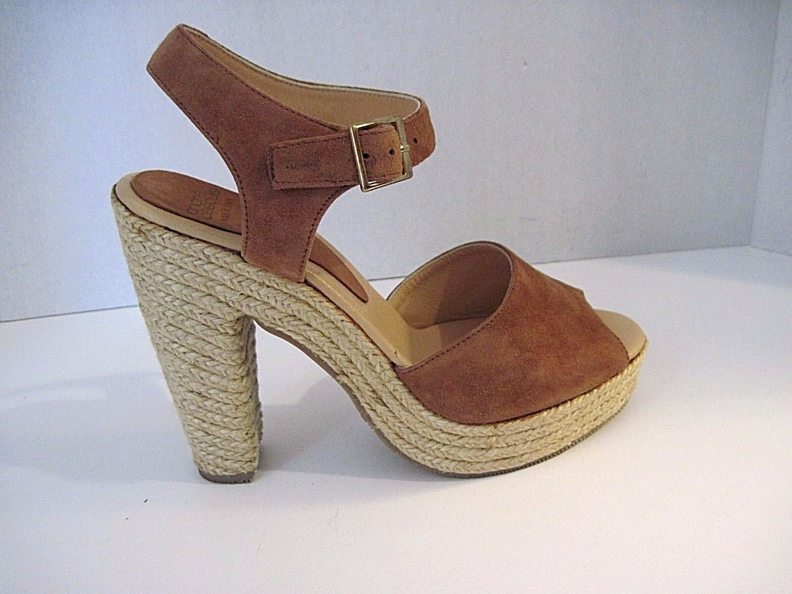 ANDRE ASSOUS SASHA Suede Braun Suede SASHA Rope Heels Größe 40, Made In Spain, SOLD OUT edbe49