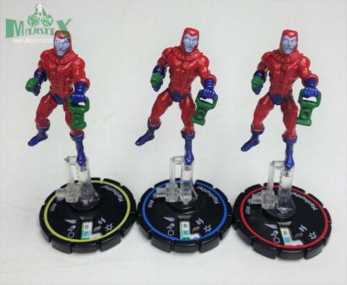 Heroclix Cosmic Justice set Manhunter #025 #027 R//E//V figures! #026