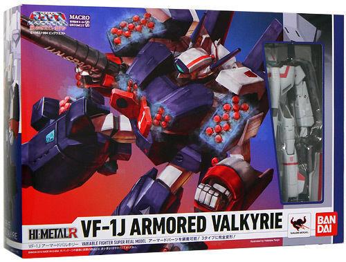 BANDAI HI-METAL R Macross VF-1J Armored Valkyrie Action Figure F//S Japan USED
