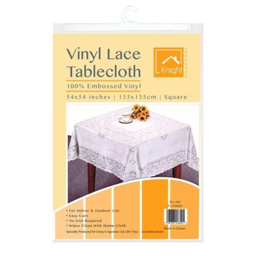 CHEVALIER Vinyle Table Nappe//housse en Variable Formes et Tailles