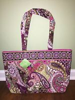 Vera Bradley VERY BERRY PAISLEY Retired Shoulder EAST WEST TOTE - NWT