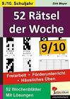 52 Rätsel der Woche / Klasse 9-10 von Dirk Meyer (2016, Taschenbuch)