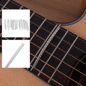 New-24pcs-Electric-Guitar-Copper-Fret-Wire-Fretwire-Sets-For-LP-SG-2-2mm