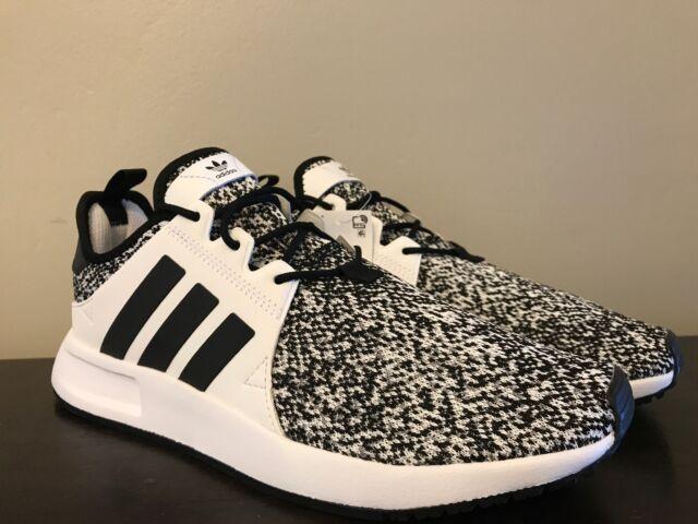 adidas Originals Men's X PLR Running Casual Shoes Black White Size 8 B37931
