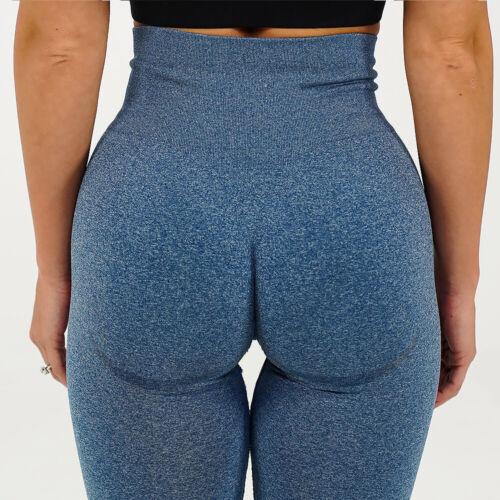Damen Legging Sporthose Yogahose Leggins Fitness Yoga Stretch Hohe Taille Tight