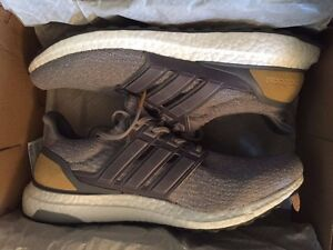 Details about Adidas Ultra Boost 3.0 LTD Size 11 Mid Grey Leather Cage *WITH RECEIPT*