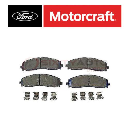 Motorcraft Disc Brake Pads for 2013-2016 Ford F-250 Super Duty 6.2L 6.7L V8 so