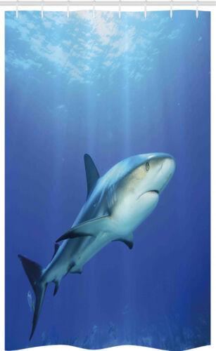 Hai Schmaler Duschvorhang Exotische Dreamy Ocean Life
