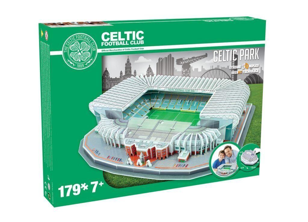 Celtic FC Official CELTIC PARK 3D Stadium Puzzle New Boxed