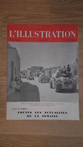 L'Illustrazione - 7 Novembre 1942 - N°5200 - I Inserti Sulla Anteriore Egitto