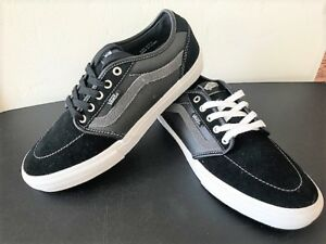 e5fbc77cbb0 Details about VANS Ultracush HD Pro Men s Skate Shoe Black Gray Leather  size 9 NEW