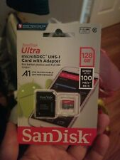 SanDisk Ultra 128GB MicroSDXC Verified for Alcatel OneTouch Tribe 3041 by SanFlash 100MBs A1 U1 C10 Works with SanDisk