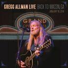Gregg Allman Live Back to Macon GA January 14 2014 2x CD DVD 2015