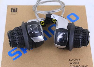 SHIMANO BIKE RIGHT REVOSHIFT SL-RS43-7 7 SPEED CYCLE TWIST GEAR GRIP SHIFTER