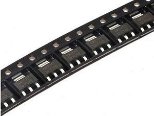 50PCS VOLTAGE REGULATOR IC ADMOS//AMS SOT-223 AMS1117-5.0 AMS1117-5