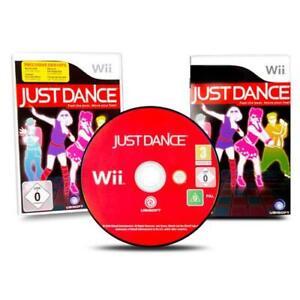 Nintendo-Wii-Jeu-Just-Dance-Emballage-D-039-Origine-avec-Manuel