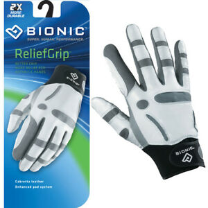 Bionic-Golf-Glove-ReliefGrip-Mens-Right-Hand-Hand-amp-Joint-Protection-MEDIUM