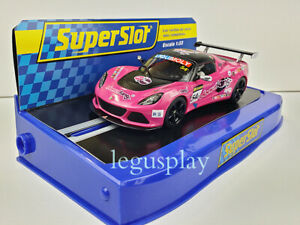 Slot Car Scalextric Superslot S3600 Lotus Exige V6Cup R GT3