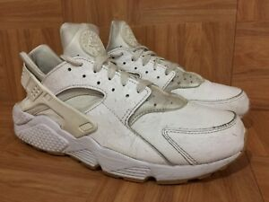 new product b3f12 a4960 Image is loading RARE-Nike-Air-Huarache-Run-PA-White-Ostrich-