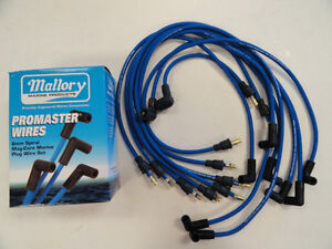 Details about MALLORY 9-28022 PROMASTER 8MM SPIRAL MAG-CORE PLUG WIRE on