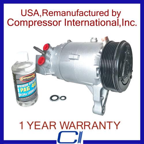 2007-2010 Malibu 3.5L//3.9L,2007-2010 G6 3.5L//3.9L OEM Reman A//C Compressor