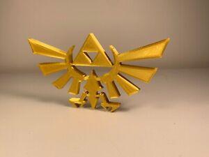 The Legend of Zelda Game Triforce Logo Collectible Display Piece Nintendo