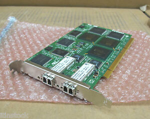 Emulex-hôte Fibre Channel Carte Adaptateur Fc1010474-01-afficher Le Titre D'origine Nettoyage De La Cavité Buccale.