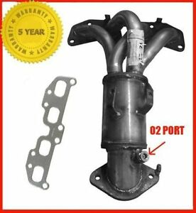 Fits-2002-2006-Sentra-2-5L-Exhaust-Manifold-Catalytic-Converter-New-W-Gasket