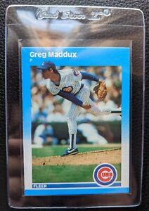 1987 FLEER UPDATE #U-68 GREG MADDUX ROOKIE CARD RC HOF CUBS BRAVES SET FRESH