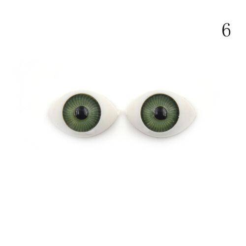4pcs BJD Dolls Eyes Plastic DIY Eyeballs BJD Doll Replacement Accessories TK