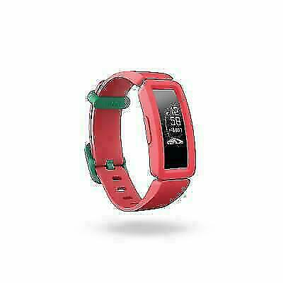 Watermelon//Teal Clasp for sale online One Size Fitbit Ace 2 Activity Tracker for Kids