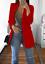 Women-Slim-Casual-Blazer-Jacket-Top-Outwear-Long-Sleeve-Career-Formal-Long-Coat thumbnail 12