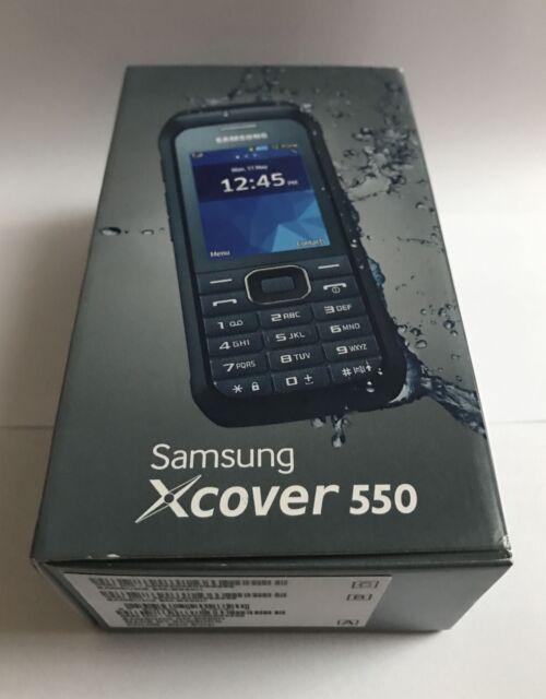 Samsung XCover 550*NEU*dark-silver*Nachfolger B2710*Handwerkerhandy*versiegelt