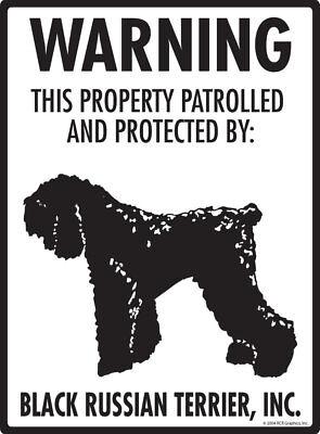 Plaque De Garde Black-Russian-Terrier-02